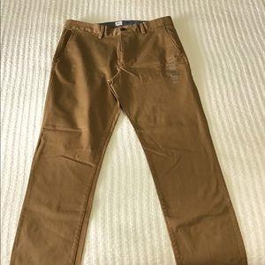 Men's GAP Slim Flat Front Trousers